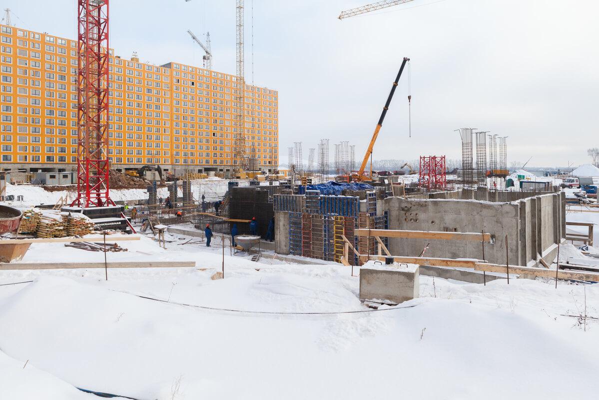 Саларьево Парк ход строительства корпус 14.1