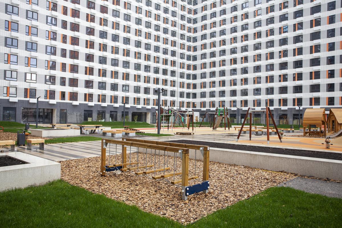 Саларьево парк. Ход строительства корпуса 14.1 на начало мая 2020 г.