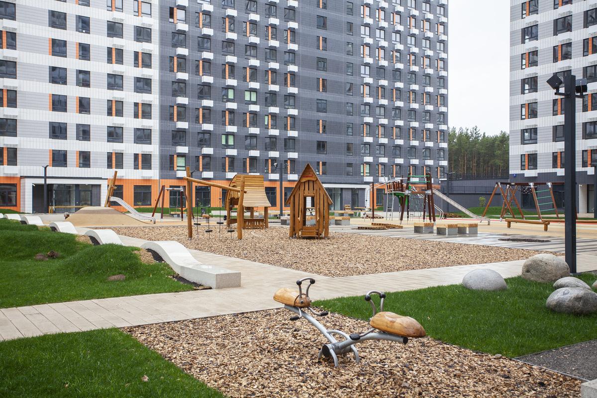 Саларьево парк. Ход строительства корпуса 14.2 на начало мая 2020 г.