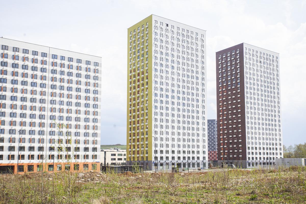 Саларьево парк. Ход строительства корпуса 15 на начало мая 2020 г.