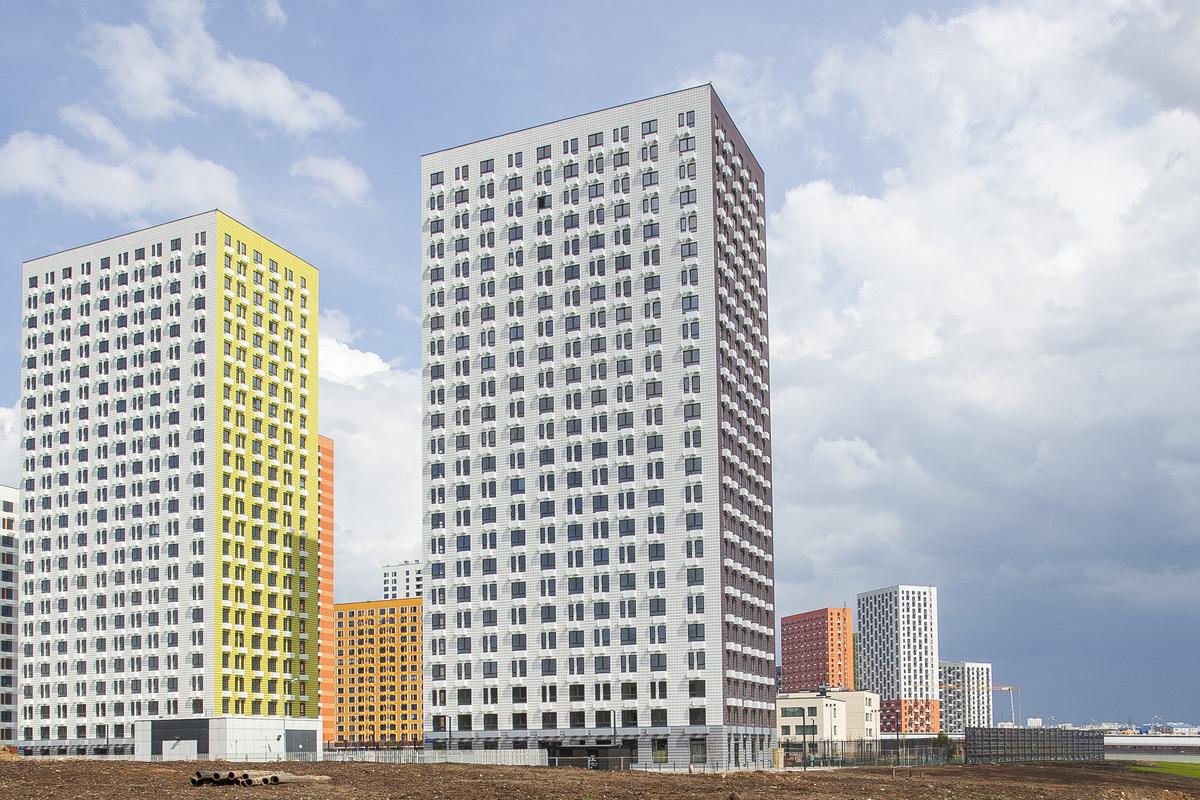 Саларьево парк. Ход строительства корпуса 16 на начало мая 2020 г.