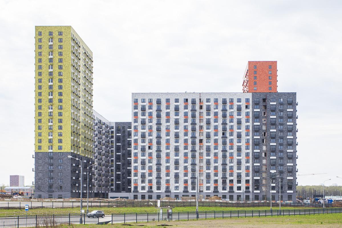 Саларьево парк. Ход строительства корпуса 18.1 на начало мая 2020 г.