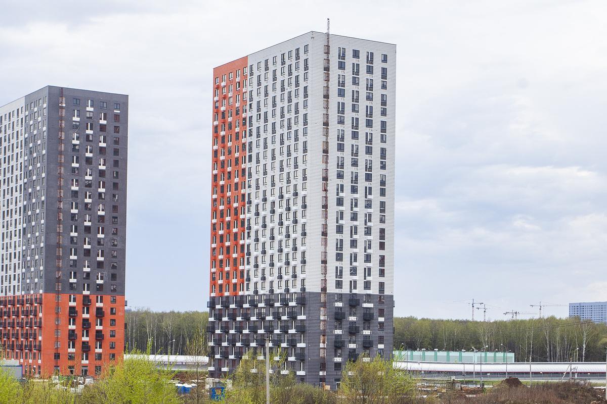 Саларьево парк. Ход строительства корпуса 21 на начало мая 2020 г.