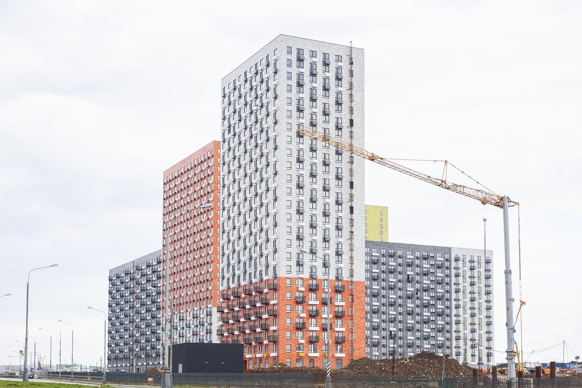 Саларьево парк. Ход строительства корпуса 19 на начало мая 2020 г.