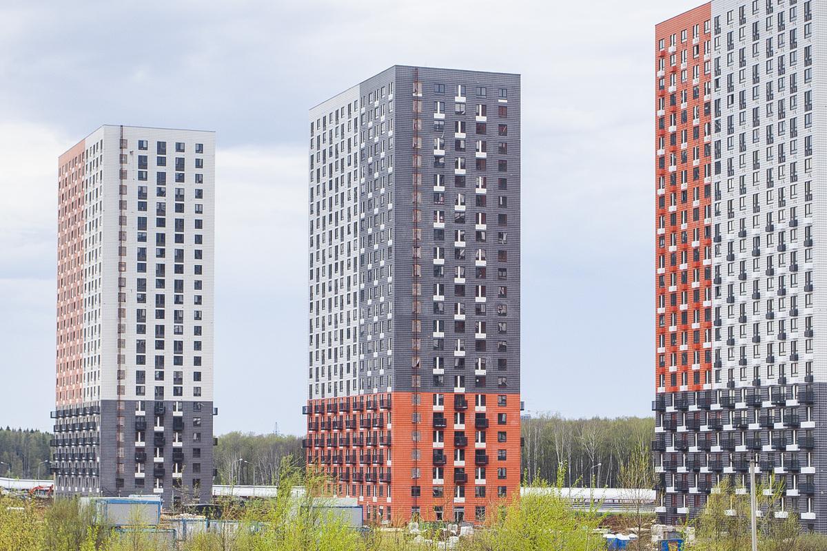 Саларьево парк. Ход строительства корпуса 22 на начало мая 2020 г.