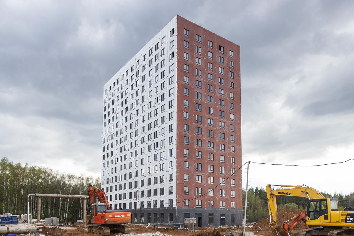 Саларьево парк. Ход строительства корпуса 24 на начало мая 2020 г.
