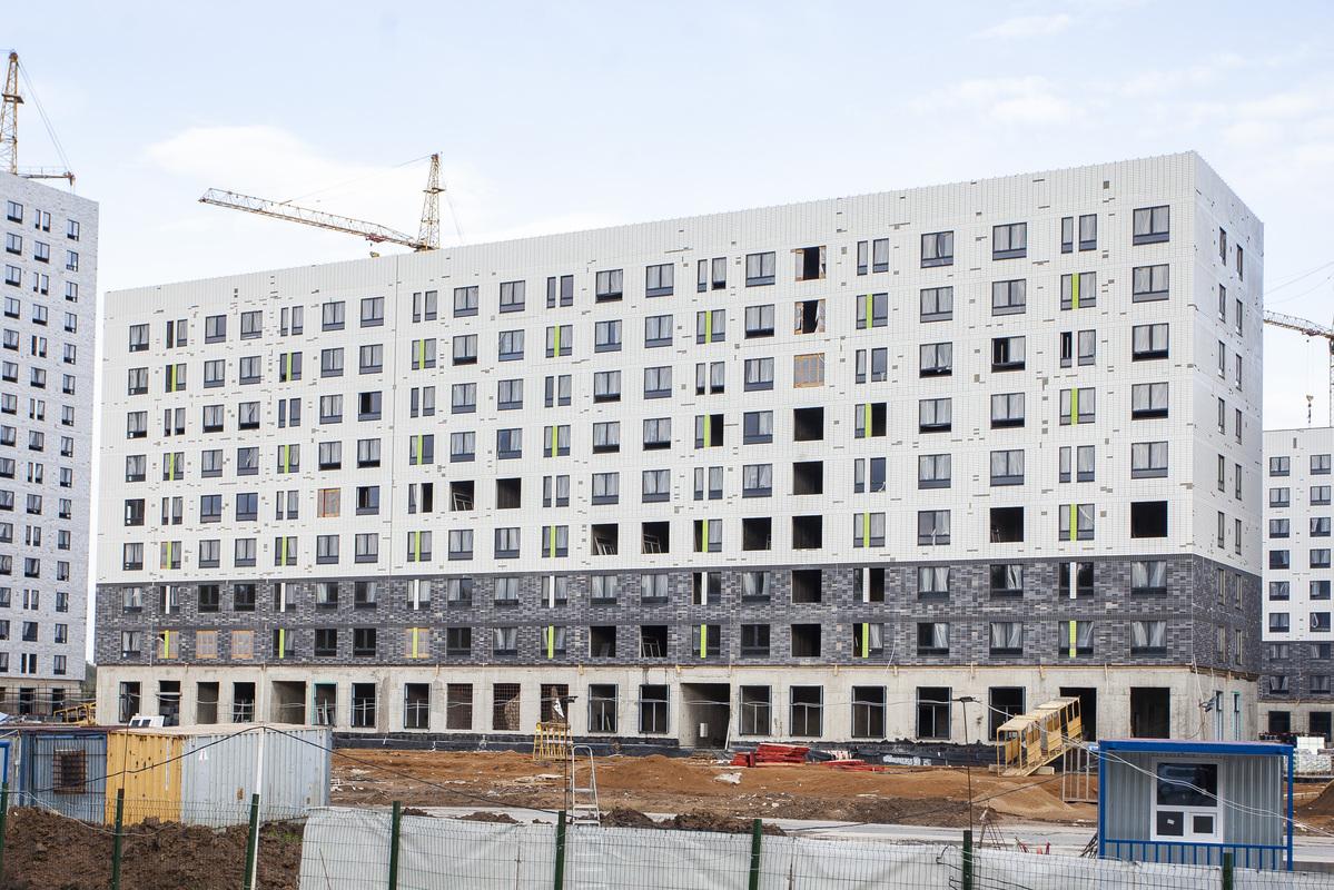 Саларьево парк. Ход строительства корпуса 27 на начало мая 2020 г.