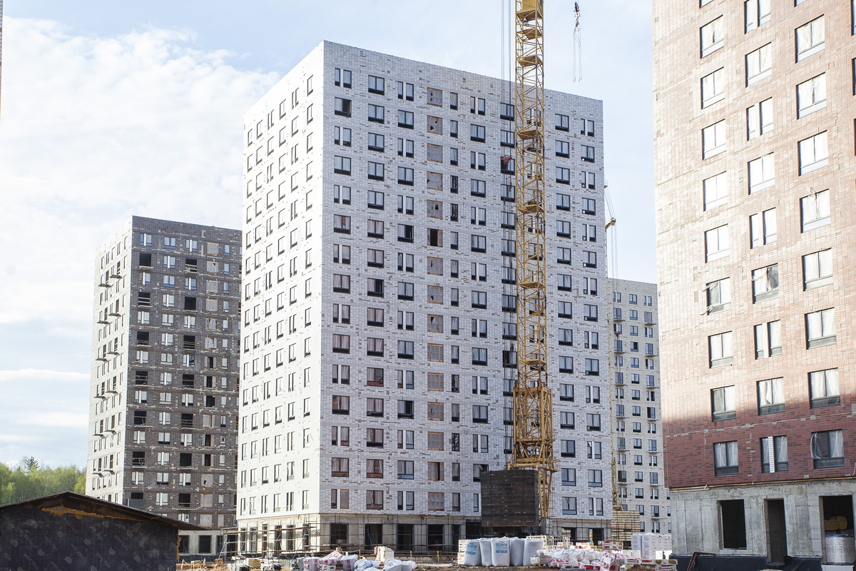 Саларьево парк. Ход строительства корпуса 29 на начало мая 2020 г.