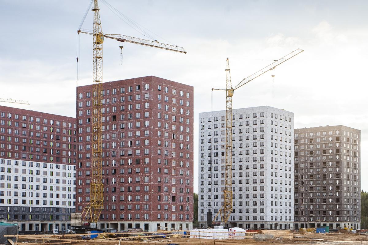 Саларьево парк. Ход строительства корпуса 30 на начало мая 2020 г.