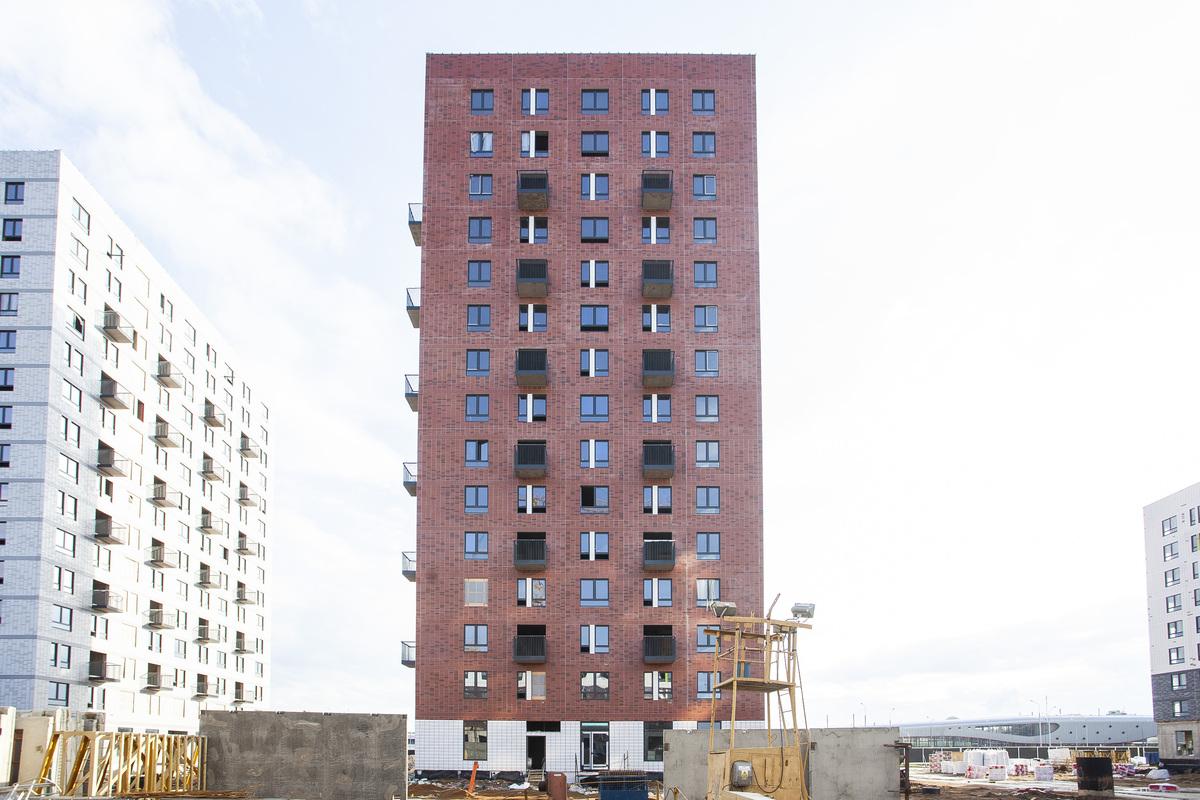 Саларьево парк. Ход строительства корпуса 38 на начало мая 2020 г.