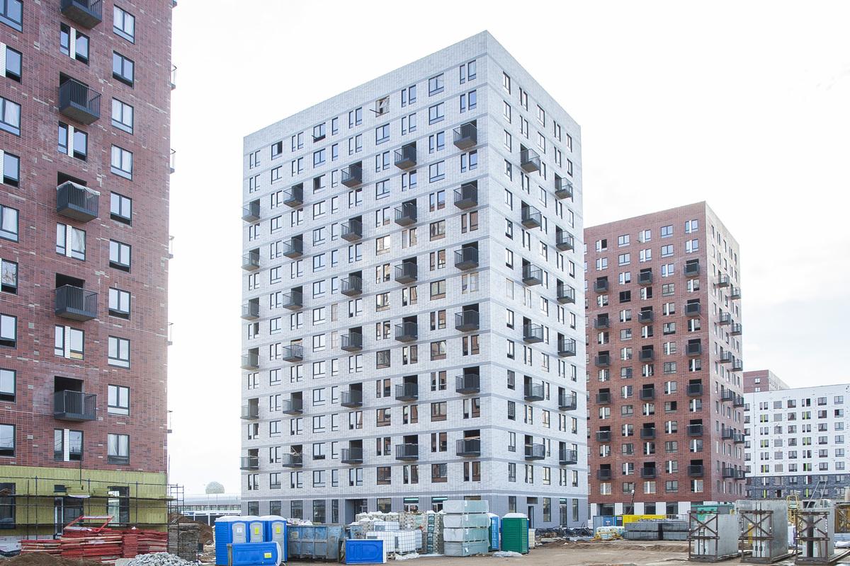 Саларьево парк. Ход строительства корпуса 39 на начало мая 2020 г.