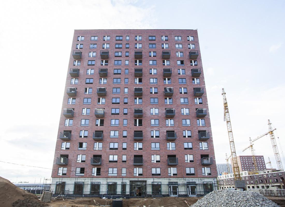 Саларьево парк. Ход строительства корпуса 40 на начало мая 2020 г.
