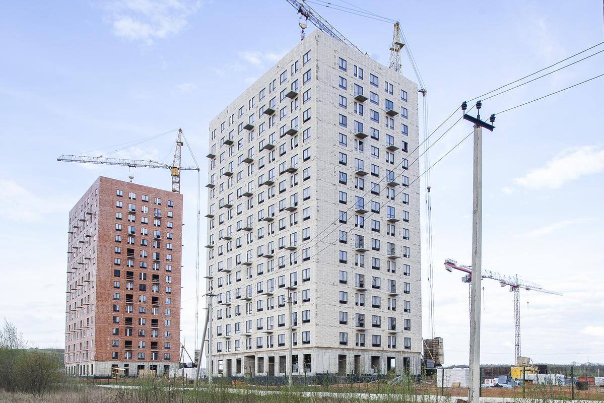 Саларьево парк. Ход строительства корпуса 31 на начало мая 2020 г.