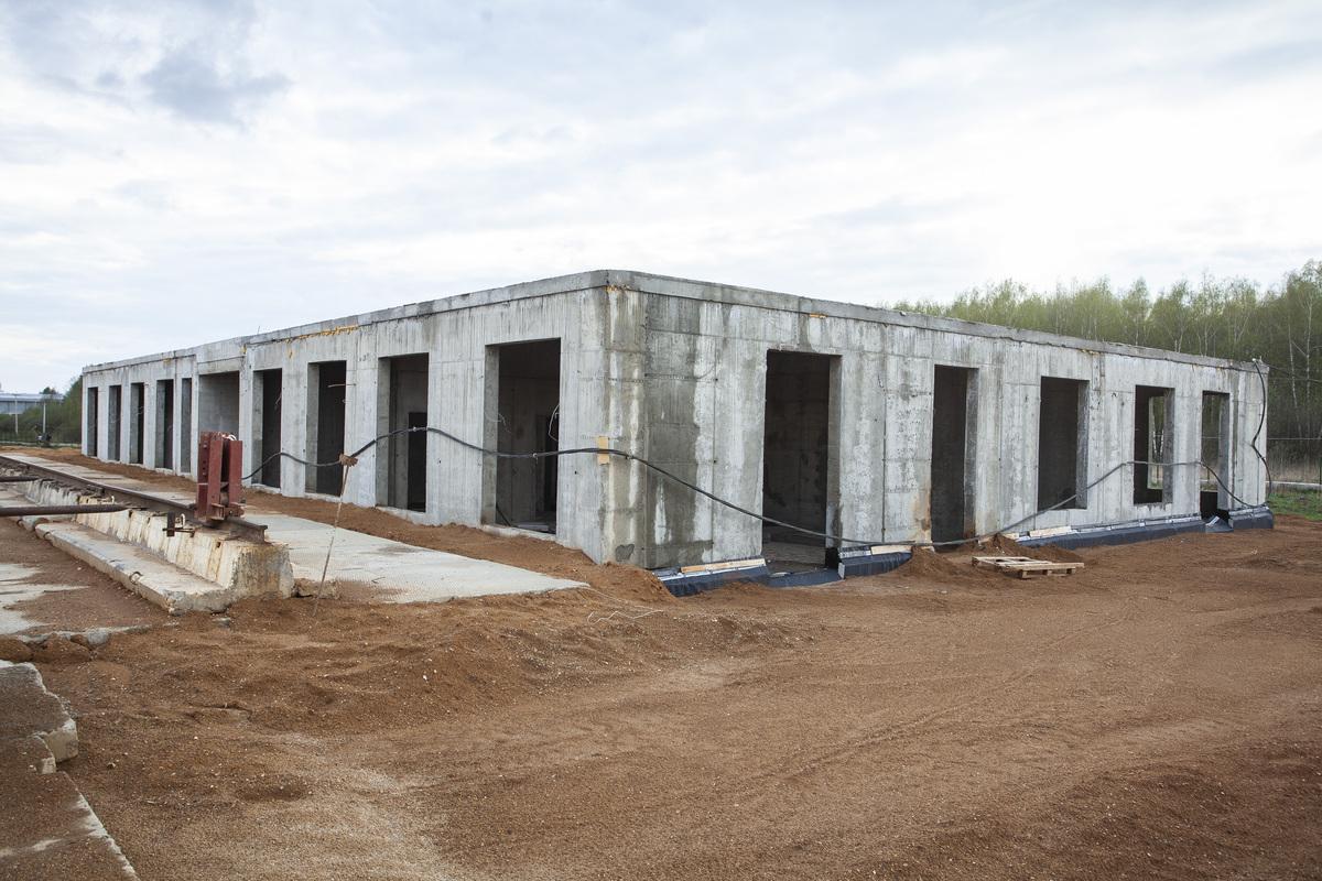 Саларьево парк. Ход строительства корпуса 35 на начало мая 2020 г.