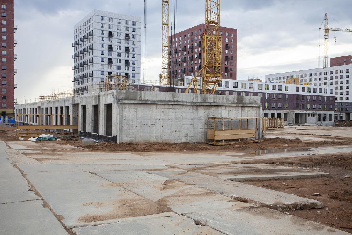 Саларьево парк. Ход строительства корпуса 41 на начало мая 2020 г.