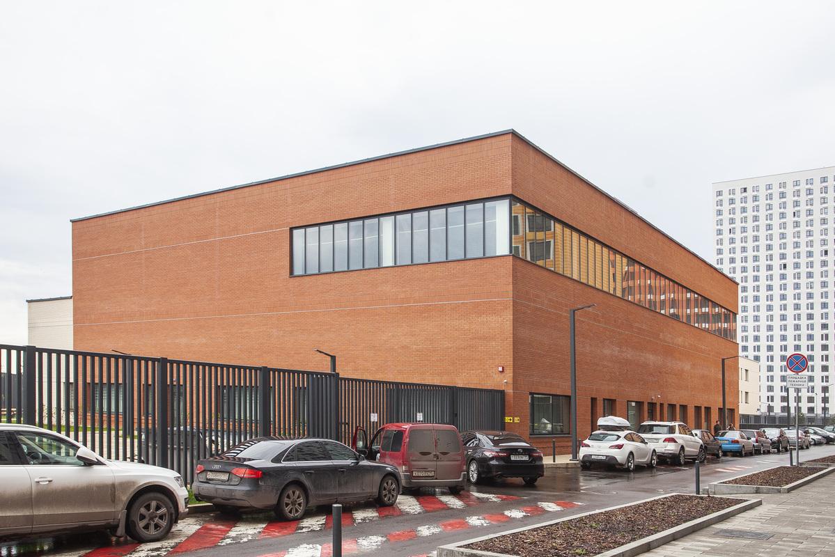 Саларьево парк. Ход строительства школы на начало мая 2020 г.