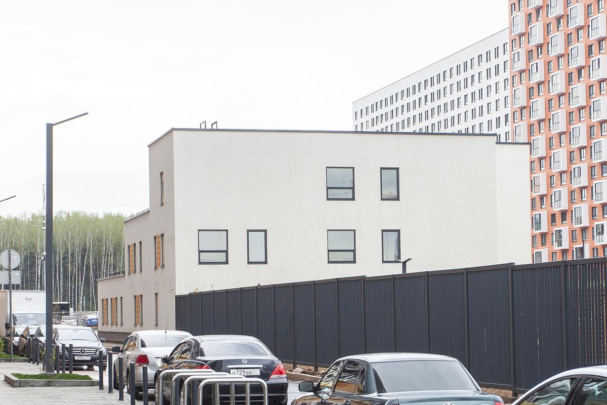 Саларьево парк. Ход строительства детского сада 3 на начало мая 2020 г.